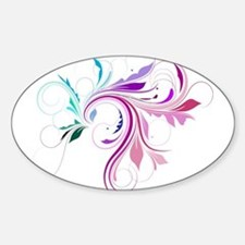 Colorful flourish Decal