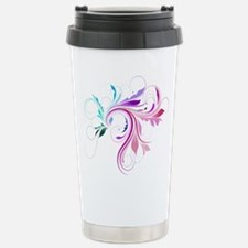 Colorful flourish Travel Mug