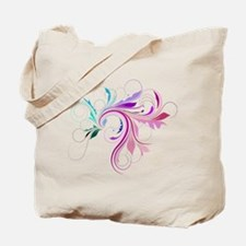 Colorful flourish Tote Bag