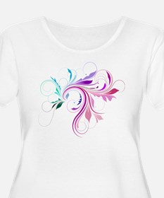 Colorful flourish T-Shirt