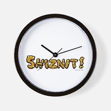 Shiznit! Wall Clock