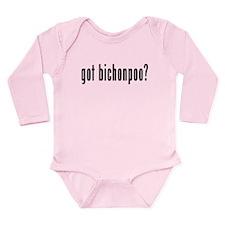 GOT BICHONPOO Long Sleeve Infant Bodysuit