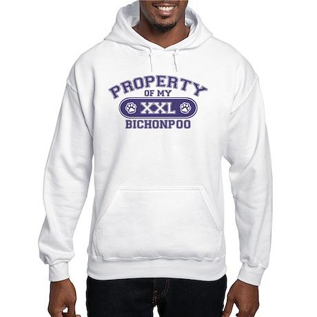 Bichonpoo PROPERTY Hooded Sweatshirt