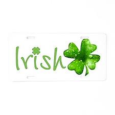 Irish Keepsake Aluminum License Plate