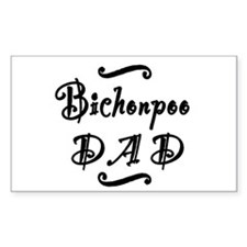 Bichonpoo DAD Decal
