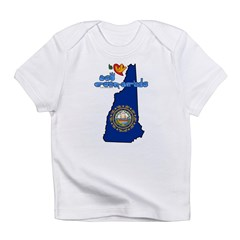 ILY New Hampshire Infant T-Shirt