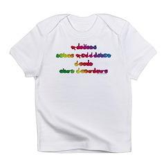 Rainbow PREVENT NOISE POLLUTI Infant T-Shirt