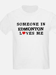 Someone in Edmonton Kids T-Shirt
