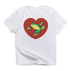 ASL Frog in Heart Infant T-Shirt