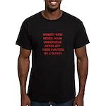 panties Men's Fitted T-Shirt (dark)