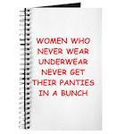 panties Journal