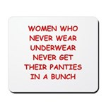 panties Mousepad