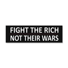 Fight The Rich - Car Magnet 10 x 3