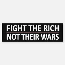 Fight The Rich - Bumper Bumper Sticker