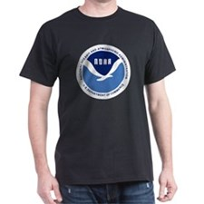 NOAA Black T-Shirt 1