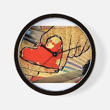 Heart of an Artist Wall Clock