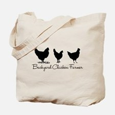 Backyard Chicken Farmer Tote Bag