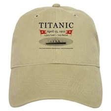 Titanic Ghost Ship (white) Baseball Cap