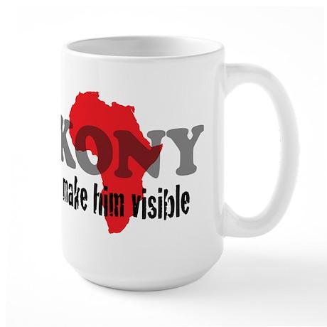 Stop Kony 2012 Large Mug