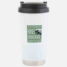 Honey O'Badger Stainless Steel Travel Mug