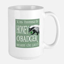 Honey O'Badger Large Mug