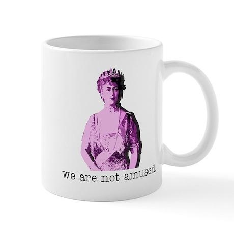 NOT AMUSED Mug