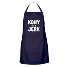 Kony is a Jerk Apron (dark)