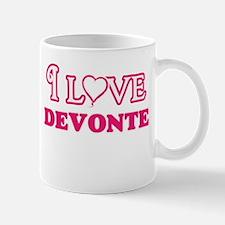 I Love Devonte Mugs