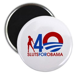 Sluts for Obama Magnet
