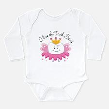I Love The Tooth Fairy Long Sleeve Infant Bodysuit