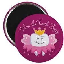 "I Love The Tooth Fairy 2.25"" Magnet (10 pack)"