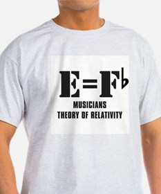 e equals f flat T-Shirt