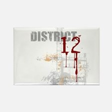 District 12 - Hunger Games Rectangle Magnet
