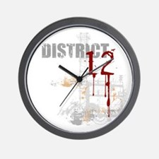 District 12 - Hunger Games Wall Clock