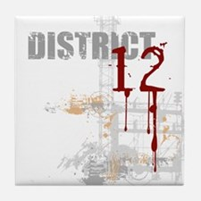District 12 - Hunger Games Tile Coaster