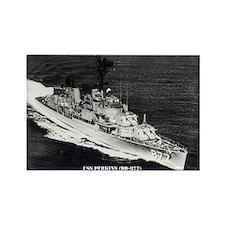 USS PERKINS Rectangle Magnet