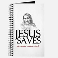 Jesus Saves on Double Coupon Day Journal