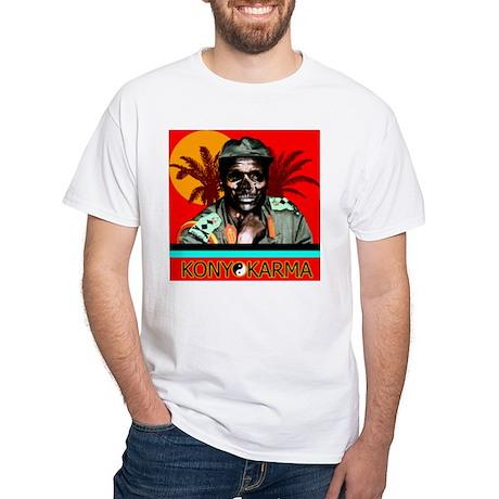 Kony White T-Shirt