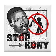 Stop Kony Tile Coaster