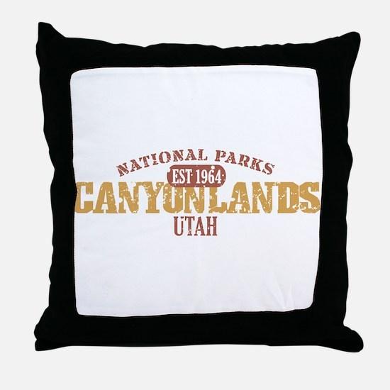 Canyonlands National Park UT Throw Pillow