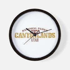 Canyonlands National Park UT Wall Clock