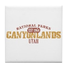 Canyonlands National Park UT Tile Coaster