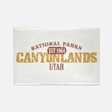 Canyonlands National Park UT Rectangle Magnet