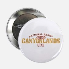 "Canyonlands National Park UT 2.25"" Button (10 pack"