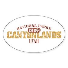 Canyonlands National Park UT Decal