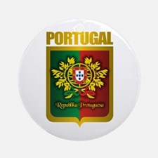 """Portuguese Gold"" Ornament (Round)"