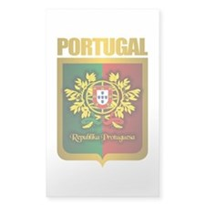 """Portuguese Gold"" Decal"