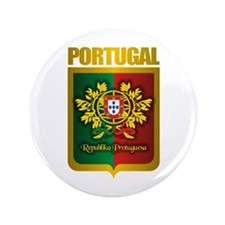 """""""Portuguese Gold"""" 3.5"""" Button"""
