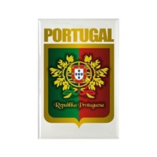 """Portuguese Gold"" Rectangle Magnet"