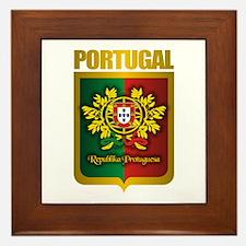"""""""Portuguese Gold"""" Framed Tile"""